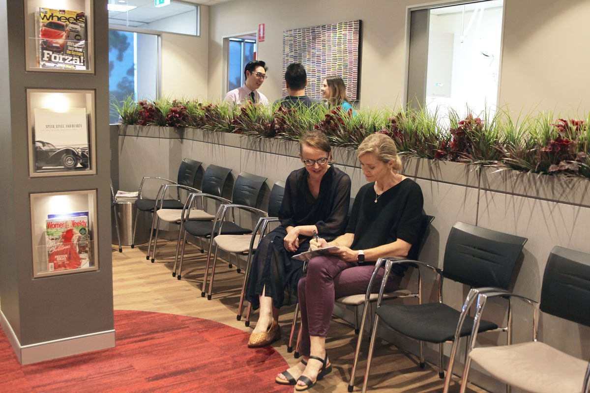 Radien Dermatology - Gordon - NSW - reception